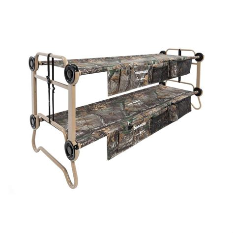 portable bunk beds large o bunk portable bunk bed with organizers