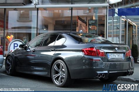Bmw M5 Colors by 2012 Bmw M5 In Singapore Gray Color