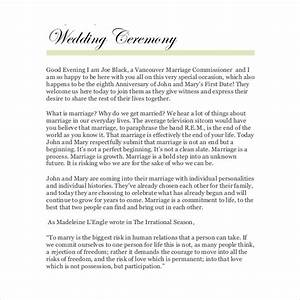 30 wedding ceremony program templates psd ai indesign With wedding ceremony script samples