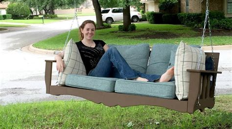 diy hanging daybed plan  outdoors diy projects