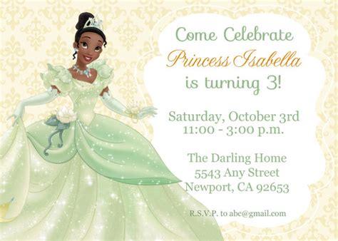 Princess And The Frog Birthday Party Printables Raising