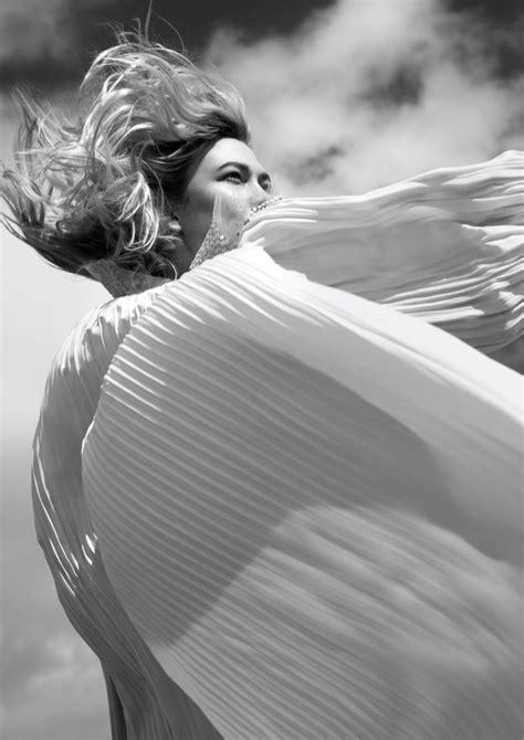 Karlie Kloss Porter Magazine Cover Beach