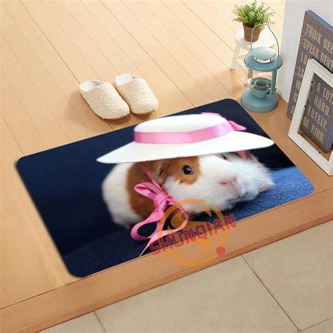 Pig Doormat by Custom Guinea Pig Doormat Bath Mats Foot Pad Home Decor