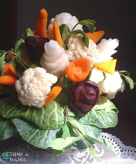 cuisine 4 mains merci et un bouquet de légumes cuisine à 4 mains