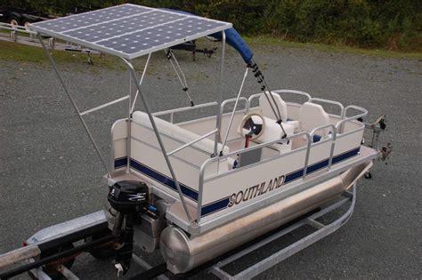 Electric Pontoon Boat Canada electric pontoon boat