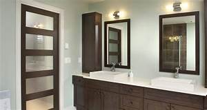 salle de bain idees deco portes milette doors With porte d entrée pvc avec modele de salle de bain douche italienne