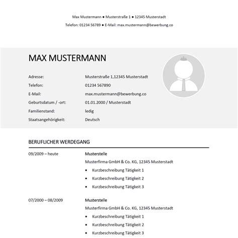Kurzlebenslauf Vorlage by Muster Lebenslauf 36 Bewerbung Co