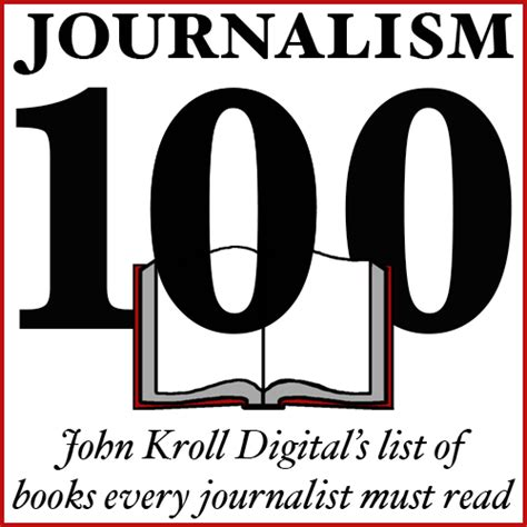 Journalism Books by 100 Books Every Journalist Must Read Kroll Digital