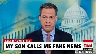 Poll Shows CNN's Jake Tapper Is America's Most Distrusted 'Journalist'…