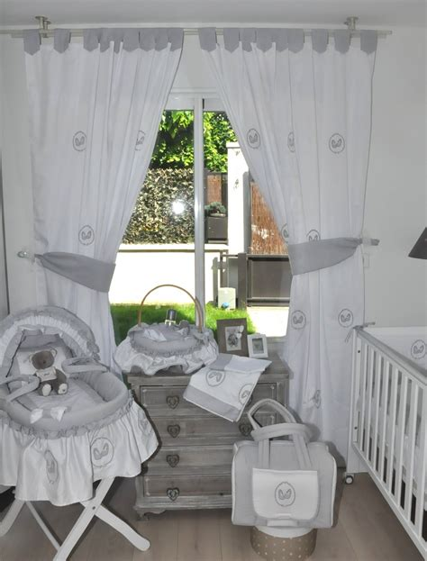 chambre bébé gris et blanc gris chambre bebe
