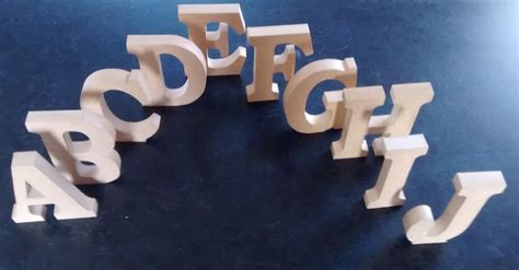 standing wooden letters home decor  large mdf wooden letters numbers