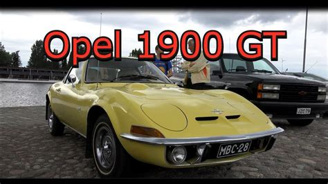 1972 Opel Gt 1900 -old Classic Car