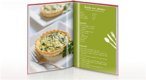 exemple de recette de cuisine aide mise en page créative 3 le livre de recettes