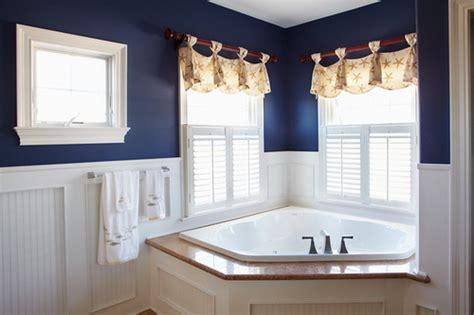 bathroom paint ideas easy tips to help you decorating navy blue bathroom home Nautical