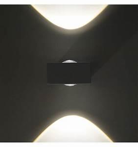 Applique Exterieur Blanc : applique murale led design pop coloris blanc ~ Edinachiropracticcenter.com Idées de Décoration