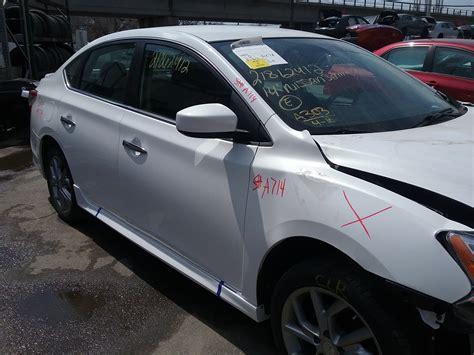 2014 nissan sentra sr stock a714 a plus auto salvage