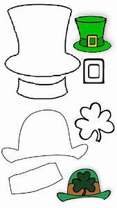 pin preschool printable leprechaun on pinterest With leprechaun hat template printable