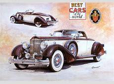 Posters y afiches publicitarios de coches de época