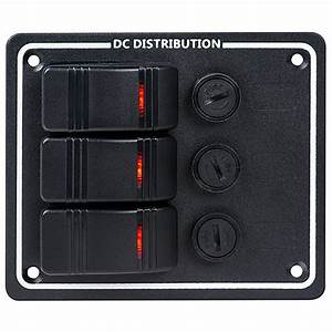 Marine Switch Panel With Fuses