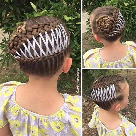 mom braids unbelievably intricate hairstyles every morning