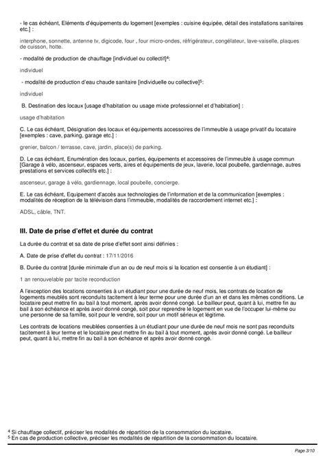 contrat de location parking modèle contrat de location type bail de location pdf hellobail