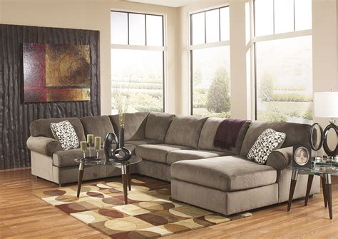 Warehouse Furniture Jessa Place Dune Right Facing Chaise Sectional
