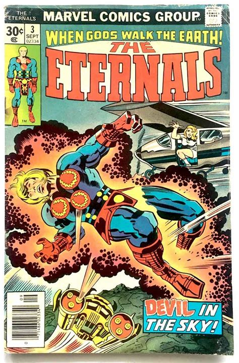 Eternals # 03 1st app. Sersi Jack Kirby Art - Brooklyn ...