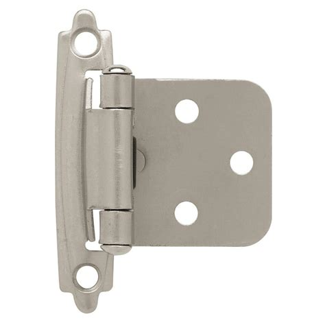 Liberty Soft Cabinet Door Der by Liberty 35 Mm 105 Degree 1 2 In Overlay Hinge 10 Pack