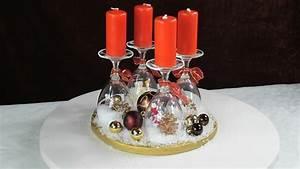 Adventskranz Mit Weingläsern : adventskranz ideen weihnachtsdeko mit weingl sern youtube ~ Whattoseeinmadrid.com Haus und Dekorationen
