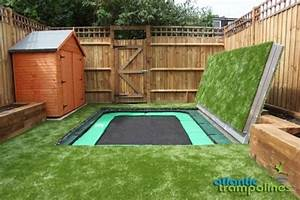 55 best in ground trampoline images on pinterest in With built in floor trampoline