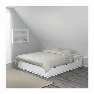 Französisches Bett Ikea : nordli bettgestell mit schubladen wei ikea pinterest bett bettgestell und schlafzimmer ~ Markanthonyermac.com Haus und Dekorationen