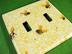 75 best bee is for bathroom images on pinterest bees With kitchen cabinets lowes with bumble bee stickers