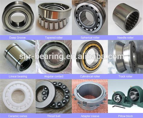 All Types Of Bearings Models For Special Bearing