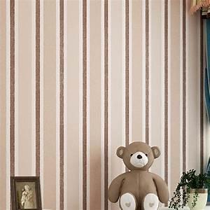 High Quality Stripes Design Home Decor Wallpaper Modern ...