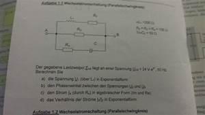 Teilstrom Berechnen : parallelschwingkreis komplexer spannungsteiler spannungen berechnen nanolounge ~ Themetempest.com Abrechnung