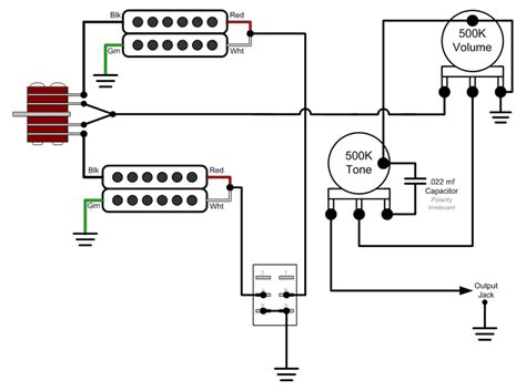 Push Pull Wiring Diagram Jackson by Help Me Installing 4 Leads Conductors Humbuckers The