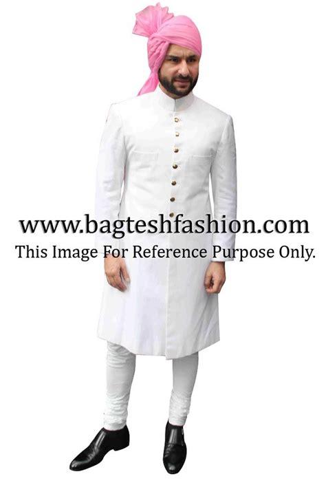 saif ali khan  white sherwani bollywood mens outfits
