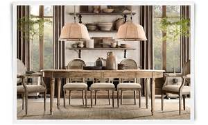 French Country Dining Room Ideas by A Deconstructed Home By Restoration Hardware Christina