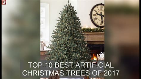 top 10 best artificial christmas trees of 2017 youtube