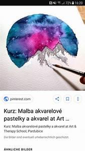 Mit Wasserfarbe Malen : kann man mit wasserfarben galaxy style malen kunst ~ Watch28wear.com Haus und Dekorationen