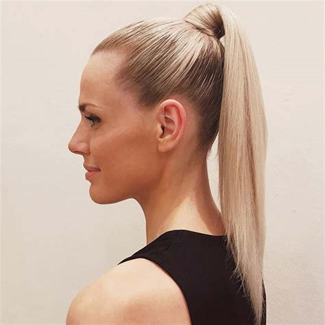 elegant ponytail hairstyles  special occassions