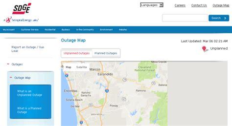 Access Outages.sdge.com