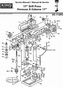King Canada Kc 118fc Service Manual Manualslib Makes It