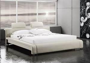 Polsterbett 160x200 Weiß : sam polsterbett doppelbett 160x200 cm wei mit beleuchtung classico ~ Indierocktalk.com Haus und Dekorationen
