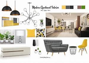Contemporary, Interior, Design, Mood, Board