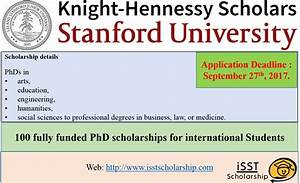 100 Fully Funded PhD Scholarships in USA at Stanford ...
