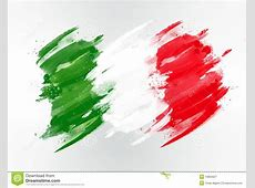 Italy Flag Drawn Royalty Free Stock Photography Image