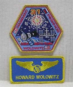 BIG BANG THEORY Howard Wolowitz Astronaut & Name Tag Patch ...