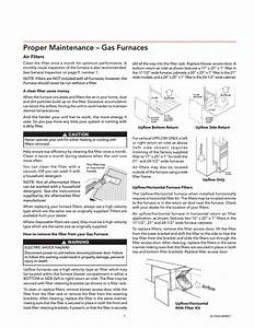 Proper Maintenance  U2013 Gas Furnaces