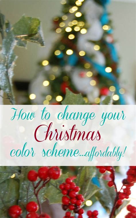 christmas tree color schemes christmas tree decorating ideas how to change your color scheme affordably trees christmas